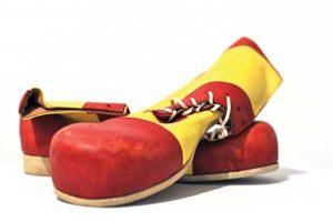 Museum-of-Comedy---Charlie-Caroli-Clown-Shoes.-Credit-Steve-Ullathorne