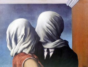 Rene Magritte. The Lovers. 1928